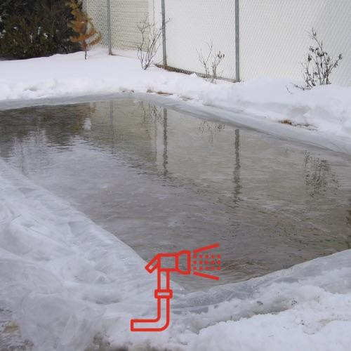 Ice Rink Membrane